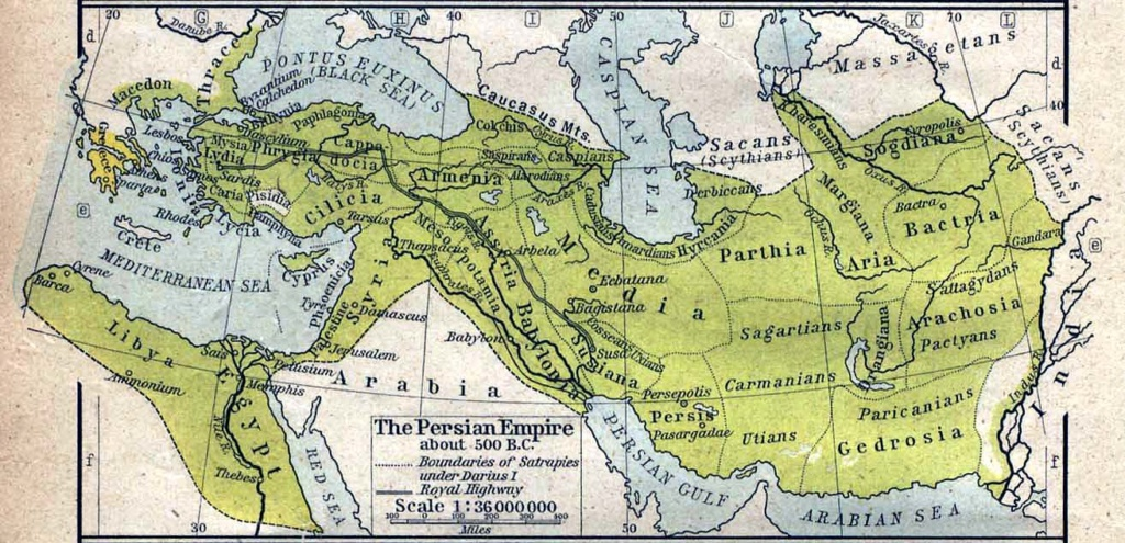 Persian-Empire-About-500BC
